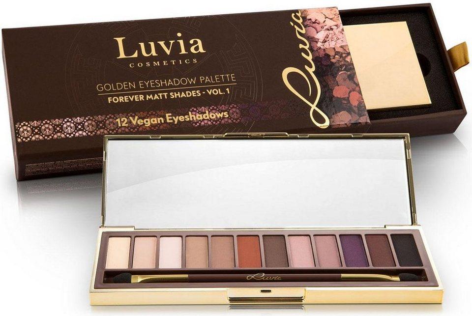 Luvia Cosmetics, »Forever Matt Shades Vol.1«, Vegane Lidschattenpalette in matt