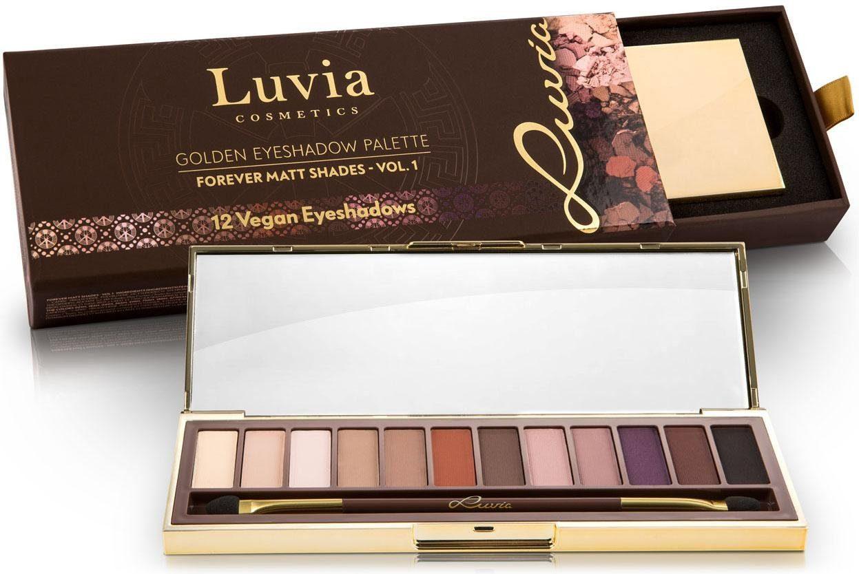 Luvia Cosmetics, »Forever Matt Shades Vol.1«, Vegane Lidschatten-Palette