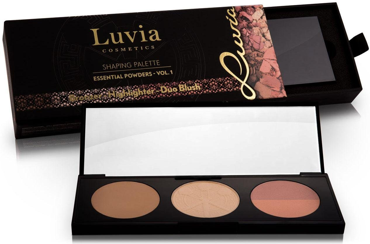 Luvia Cosmetics, »Shaping Palette - Essential Powders Vol.1«, Vegane 3 in 1 Palette