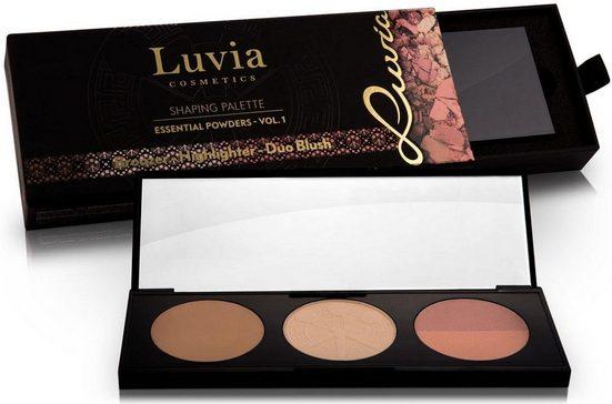 Luvia Cosmetics Contouring-Palette »Essential Powders Vol.1«, 3 Farben