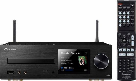 Pioneer XC-HM82D Microanlage, Hi-Res, Airplay, Bluetooth, WLAN, Digitalradio (DAB+), RDS, 1x USB in schwarz