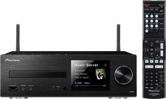 Pioneer XC-HM82D Microanlage, Hi-Res, Airplay, Bluetooth, WLAN, Digitalradio (DAB+), RDS, 1x USB