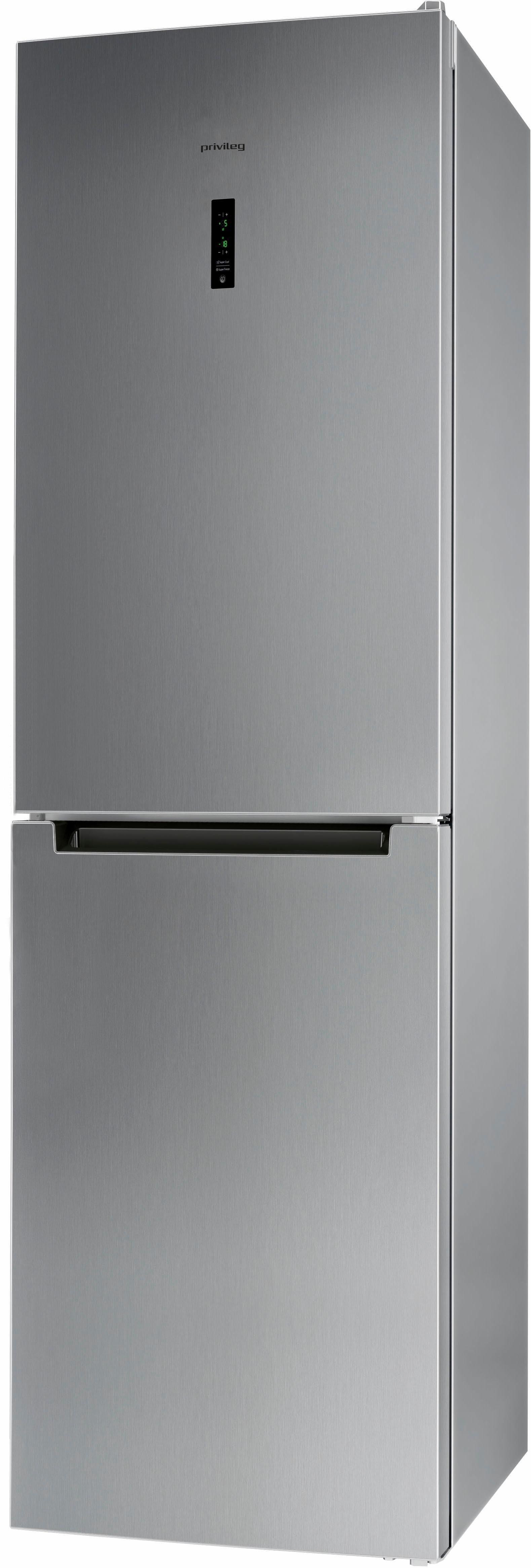 Privileg Kühl-Gefrierkombination PRBN 396S, A+++, 201 cm hoch, No Frost