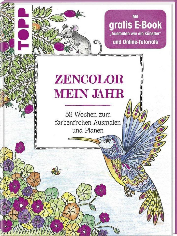 """Topp Buch """"Zencolor -Mein Jahr"""""""