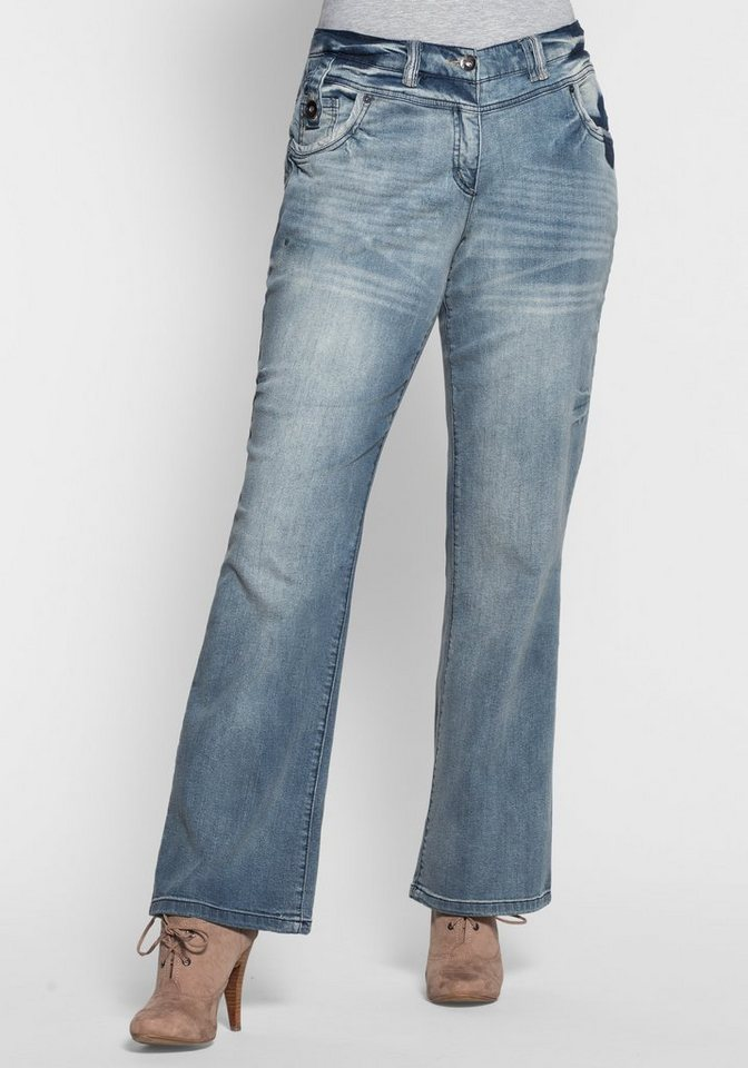 Joe Browns Bootcut-Jeans in blue denim