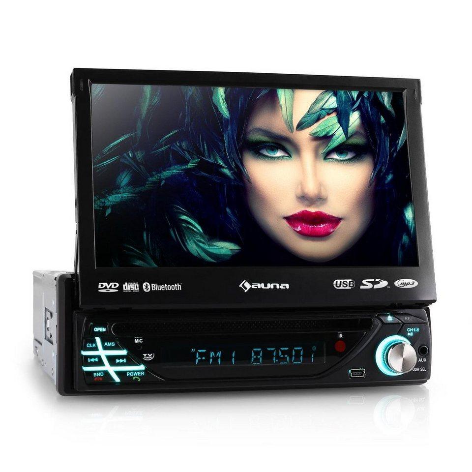 "AUNA Autoradio DVD CD MP3 USB SD AUX 7"" Touchscreen Bluetooth »MVD 220« in Schwarz"