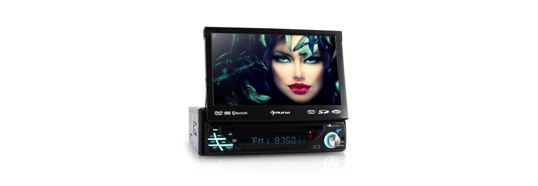 "AUNA Autoradio DVD CD MP3 USB SD AUX 7"" Touchscreen Bluetooth »MVD 220«"