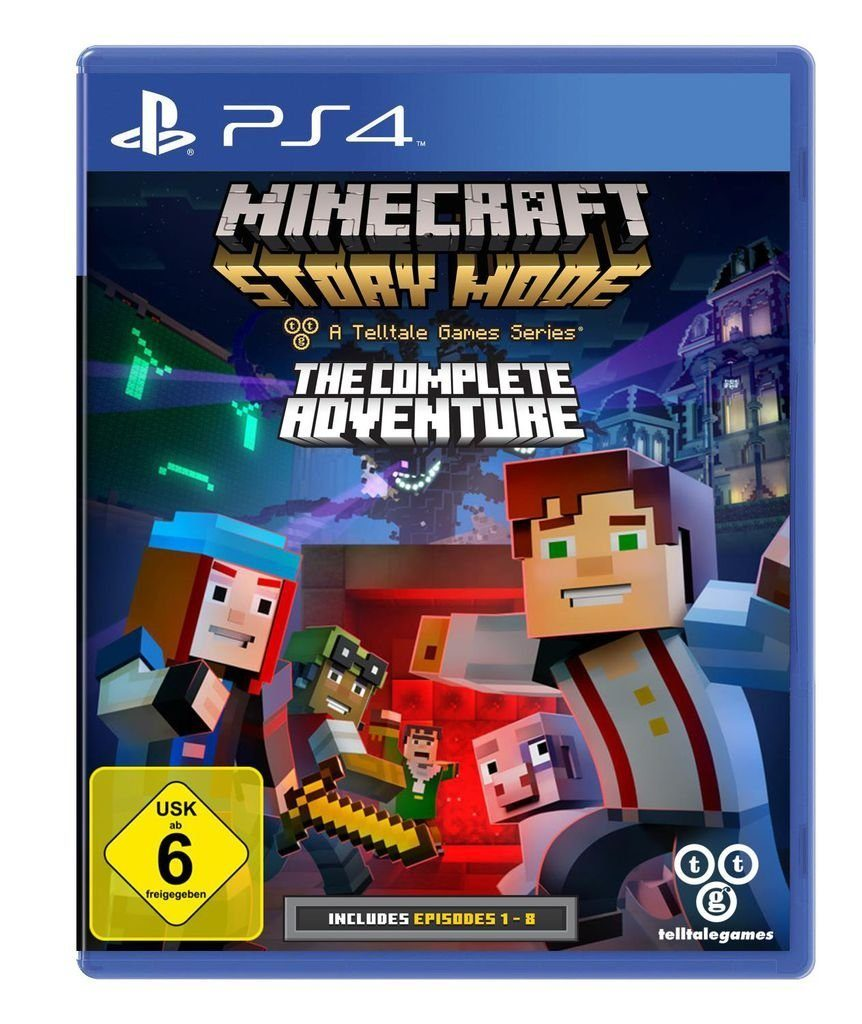 Telltale Games Playstation 4 - Spiel »Minecraft Story Mode - The Complete Adventure«