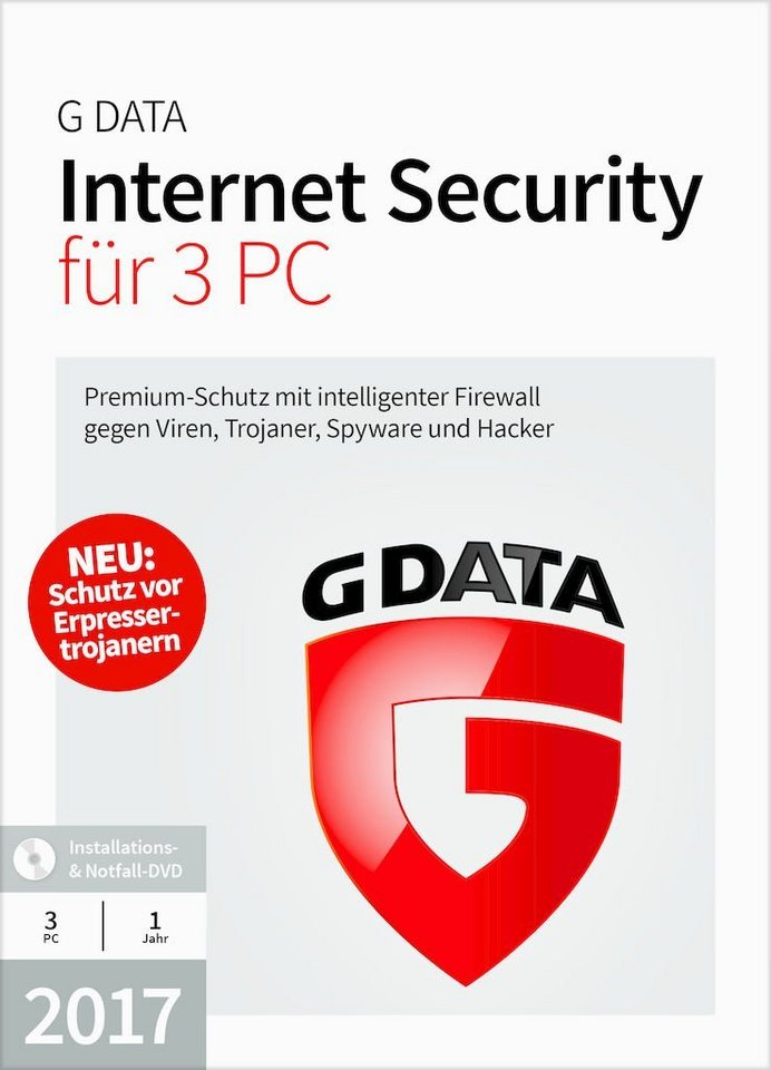 GData Software »GData Internet Security 2017 3 PC«