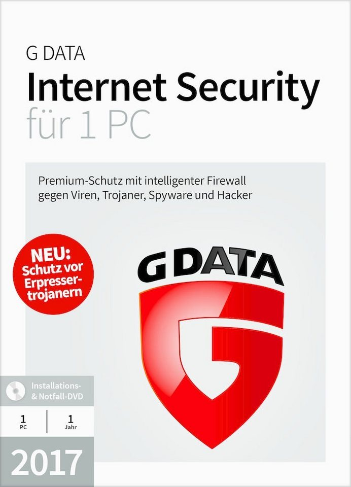 GData Software »GData Internet Security 2017 1 PC«