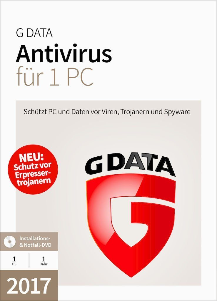 GData Software »GData Antivirus 2017 1 PC«