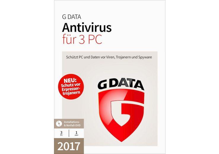 GData Software »GData Antivirus 2017 3 PC«