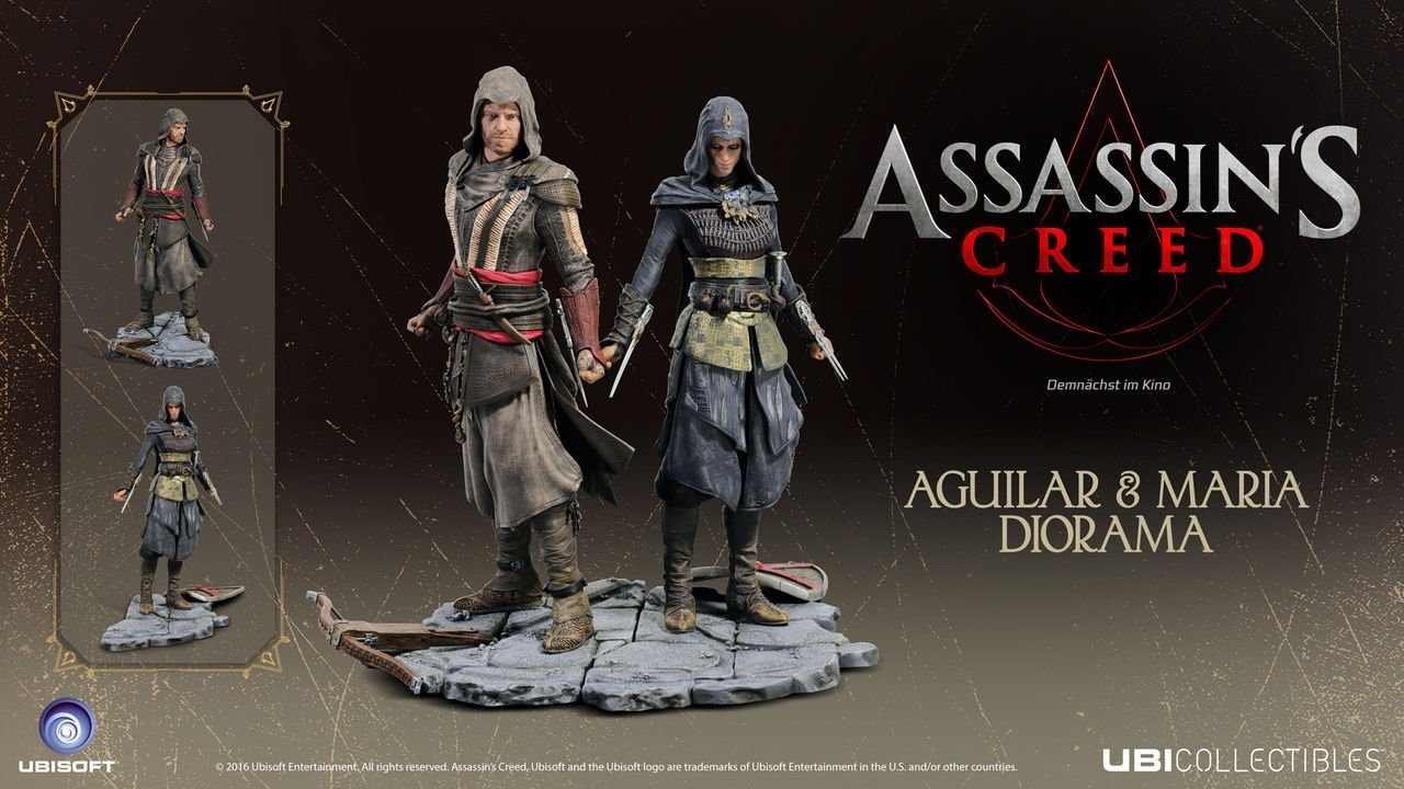 Ubisoft Fanartikel »Assassin's Creed Movie - Maria Figur«