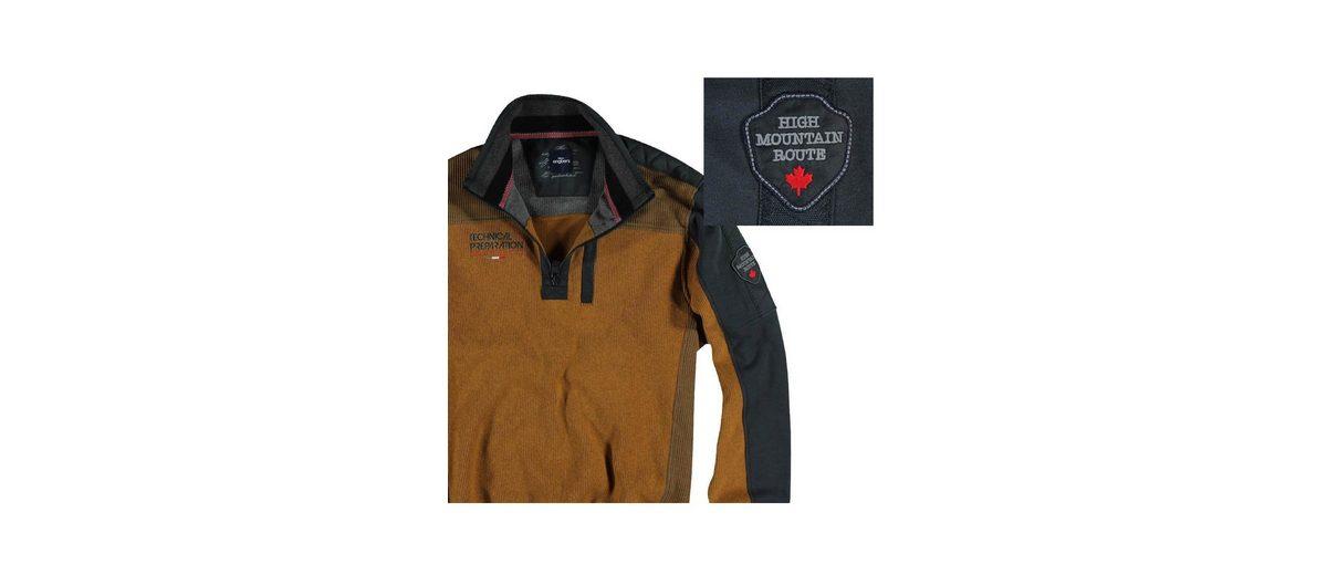 Viele Arten Von Online Websites Online-Verkauf engbers Sweatshirt Stehbund Billig 100% Garantiert 2cZnT7B