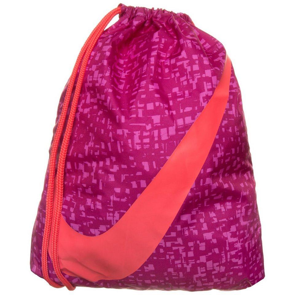Nike Sportswear Graphic Turnbeutel Kinder in lila / apricot