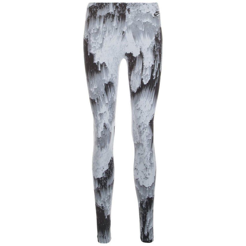 Nike Sportswear Sportswear Legging Damen in grau / schwarz