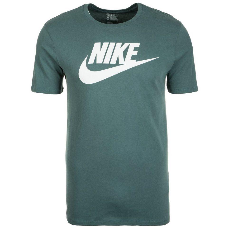 Nike Sportswear Futura Icon T-Shirt Herren in grüngrau / weiß
