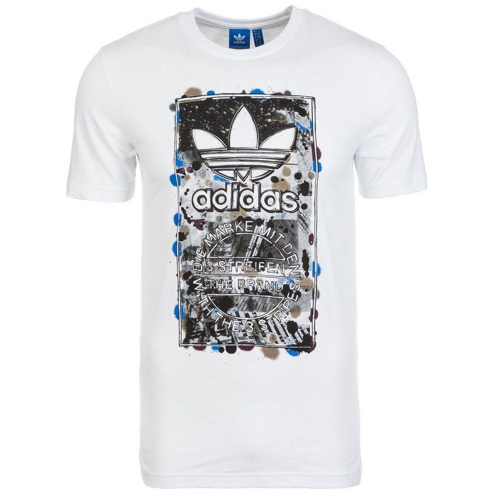 adidas Originals Culture Clash T-Shirt Herren in weiß / schwarz