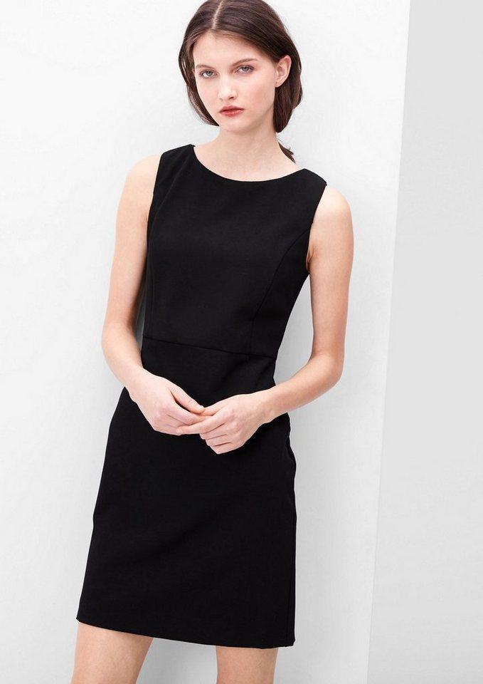 s.Oliver RED LABEL Stretch-Kleid im Business-Look in black