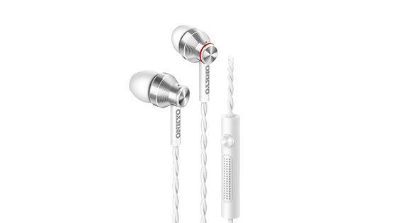 Onkyo InEar Kopfhörer »E300M/00« in weiss
