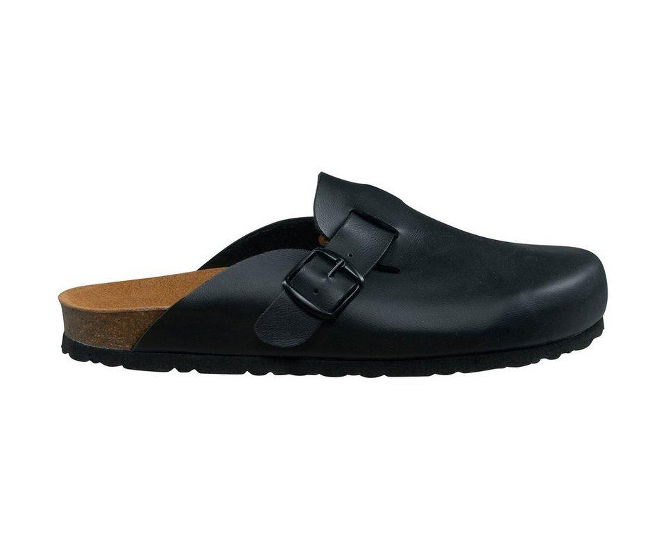 LICO Pantolette »Bioline clog« in schwarz