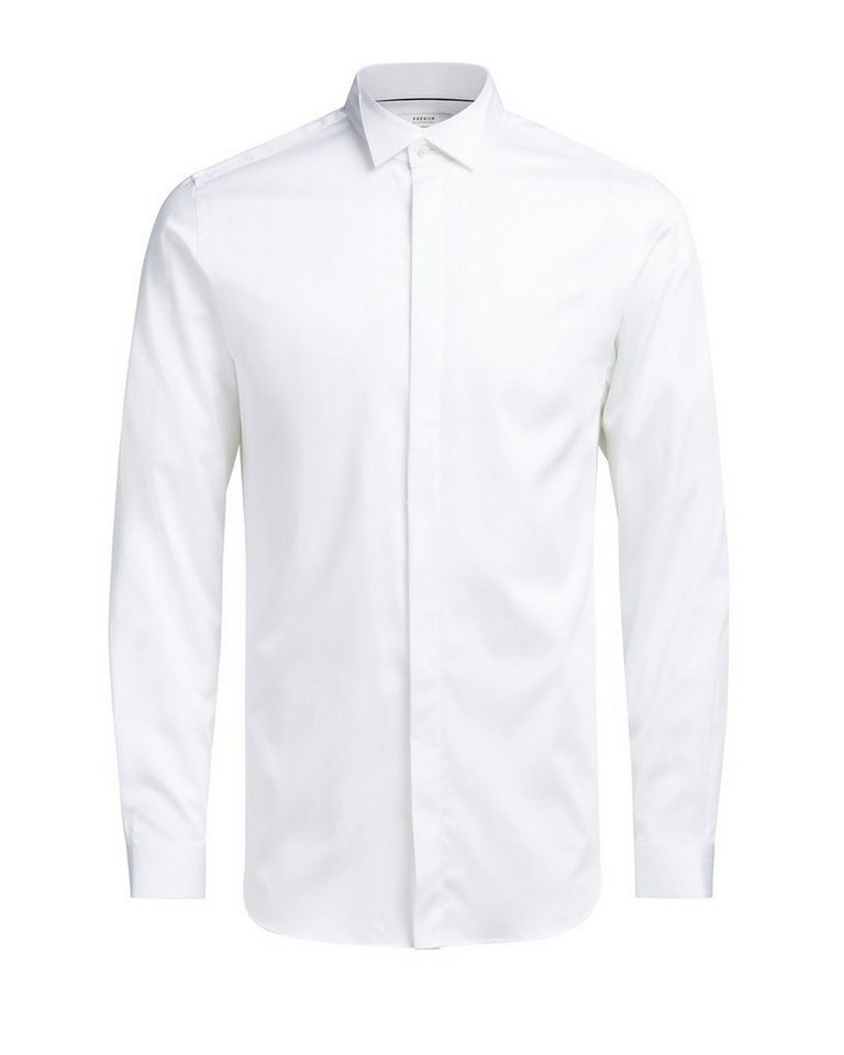 Jack & Jones Smoking- Langarmhemd in White