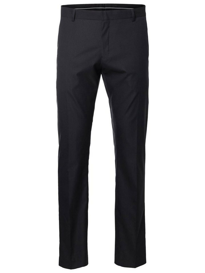 Selected Slim fit- Hose in Black