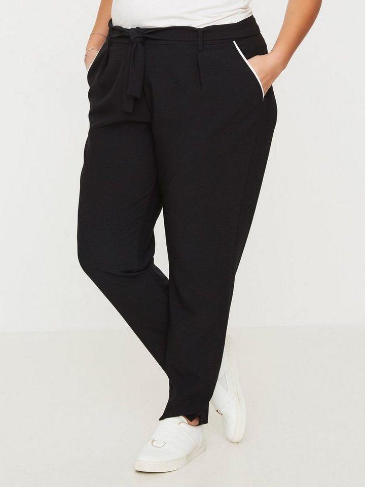 JUNAROSE Jersey- Hose in Black