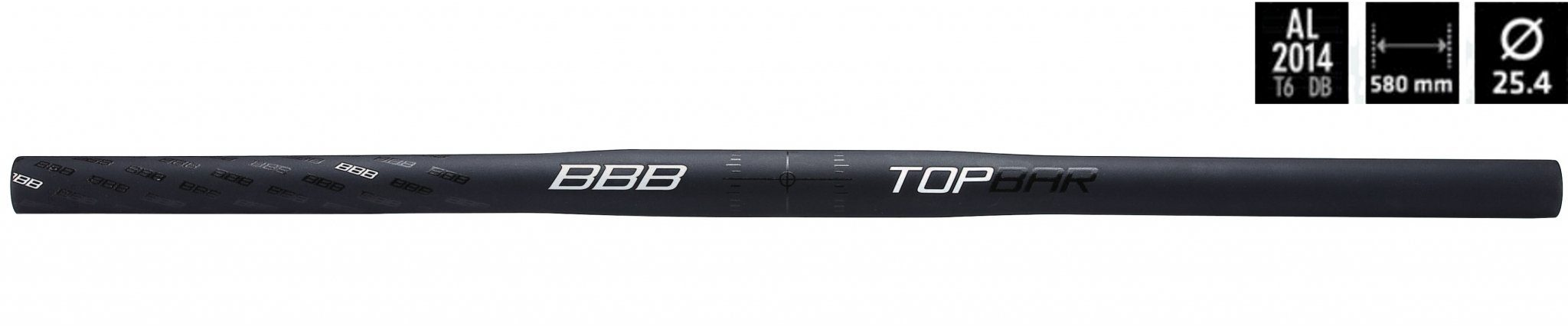 BBB Mountainbike Flat-Bar »TopBar BHB-04 MTB-Lenker 25,4mm«