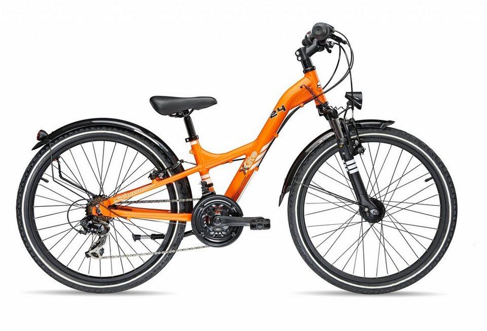 S'COOL Kinderrad »XXlite comp 24-21« in orange