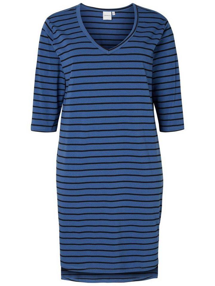 JUNAROSE 3/4-ärmeliges Kleid in True Navy