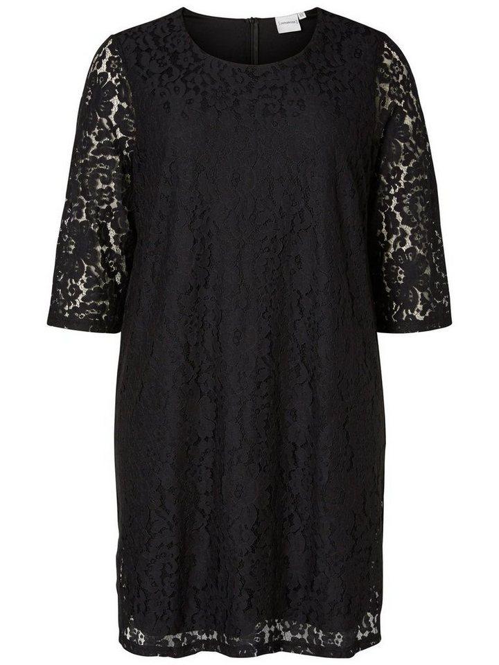 JUNAROSE 3/4-ärmeliges Kleid in Black