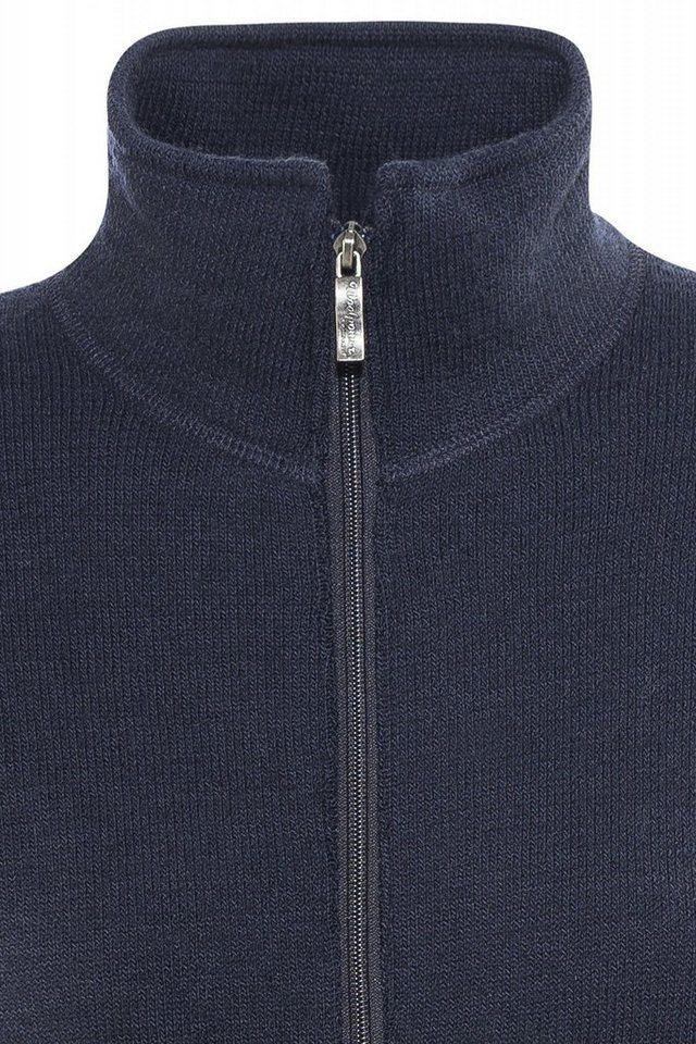 Woolpower Pullover »600 Full Zip Jacket Unisex« in blau