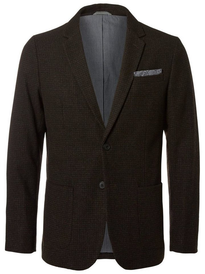 Selected Slim fit- Blazer in Grey Melange