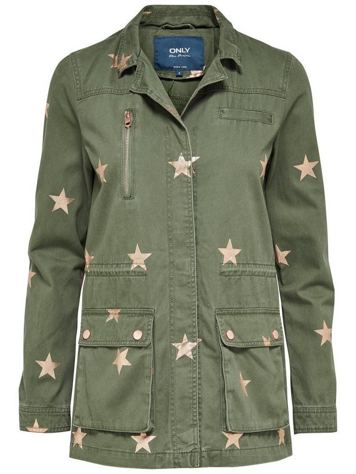 Only Star Jacke in Ivy Green