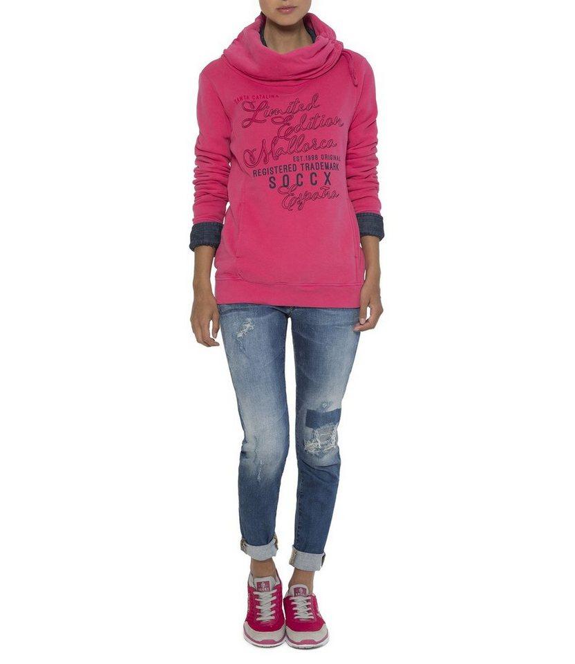 SOCCX Sweatshirt in pink