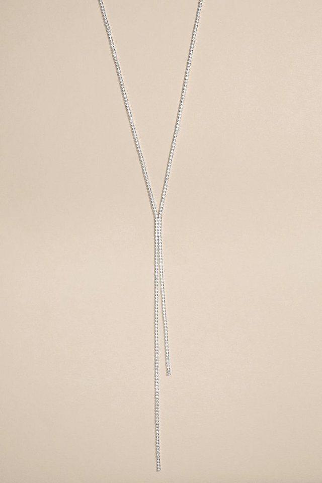 Next Halskette in Strassoptik in Silver Coloured