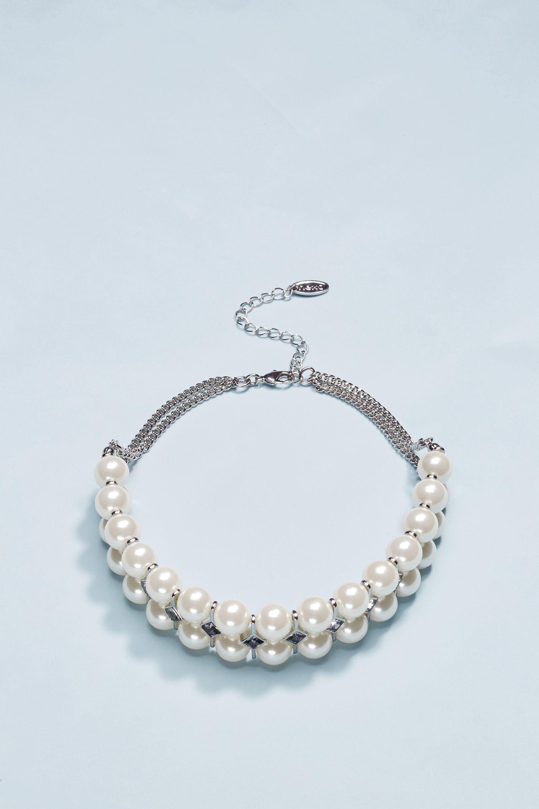 Next Halskette mit Zierperlen