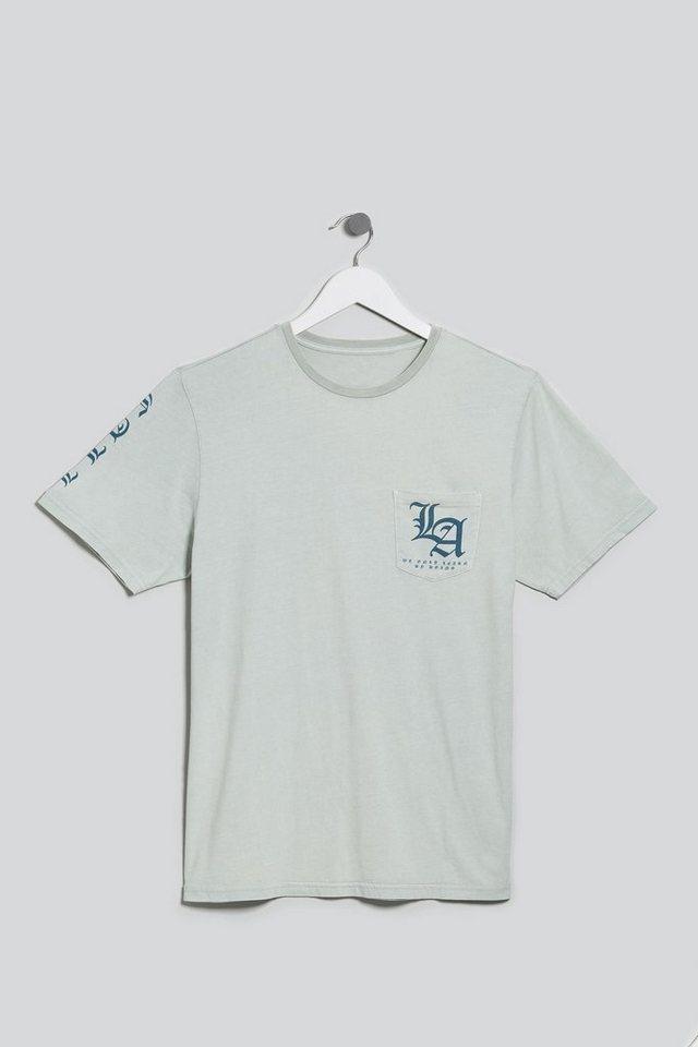 Next T-Shirt mit Grafiktext in Grey