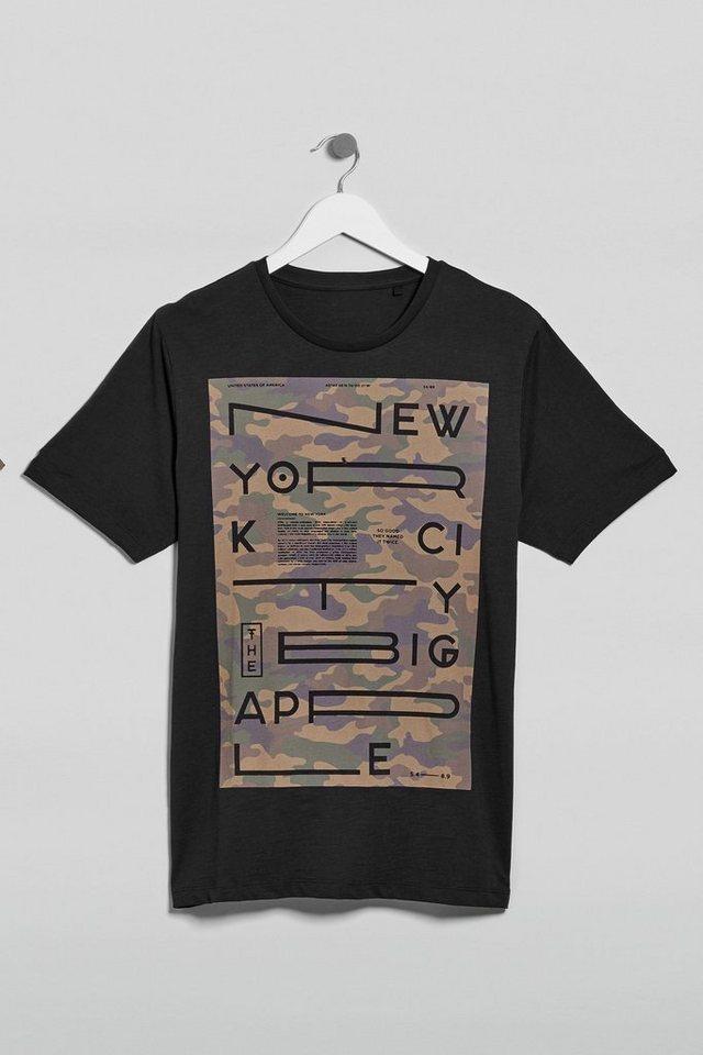 Next T-Shirt mit Grafik in Black