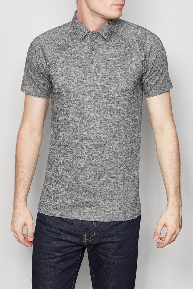 Next Muscle-Fit Poloshirt in Grey