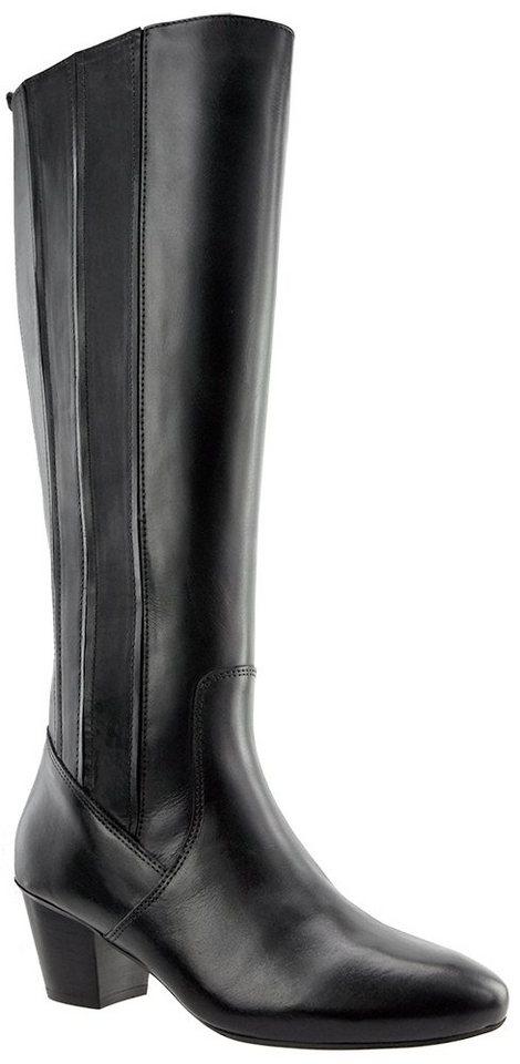 JJ Footwear »Managka« Weitschaftstiefel in schwarz