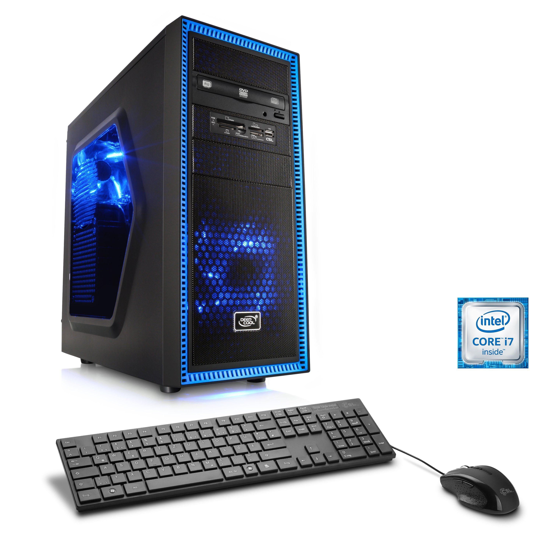 CSL Gaming PC | Core i7-4790K | GeForce GTX 1060 | 16 GB RAM | SSD »Speed T7673 Windows 10 Pro«