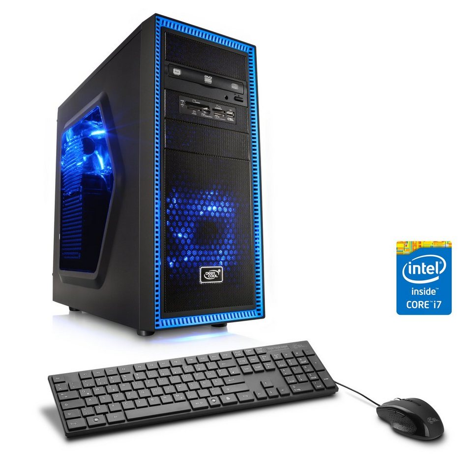 CSL Gaming PC | Core i7-4790K | GeForce GTX 1060 | 16 GB RAM | SSD »Speed T7693 Windows 10 Home«