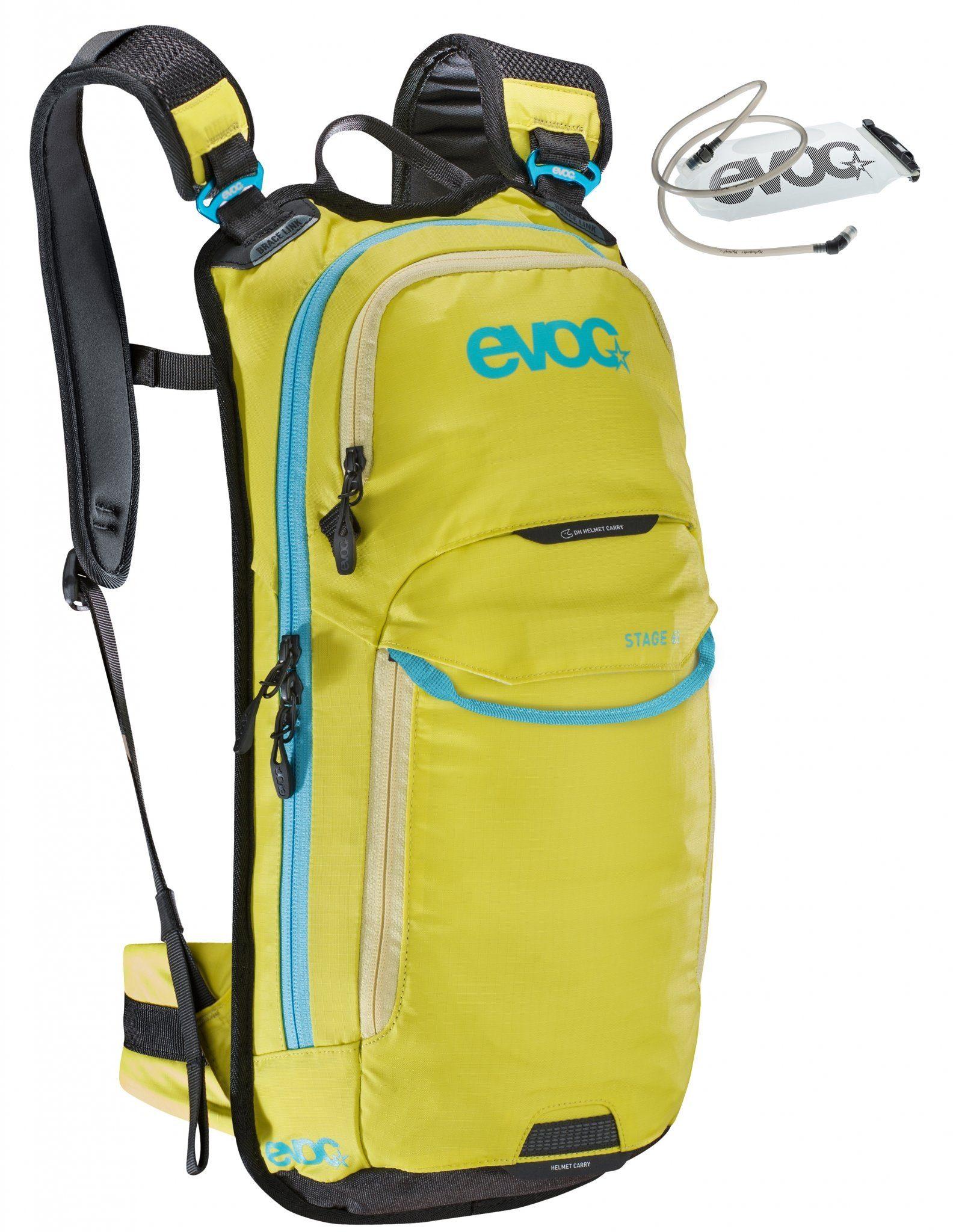 EVOC Rucksack »Stage Backpack 6 L + Hydration Bladder 2 L«