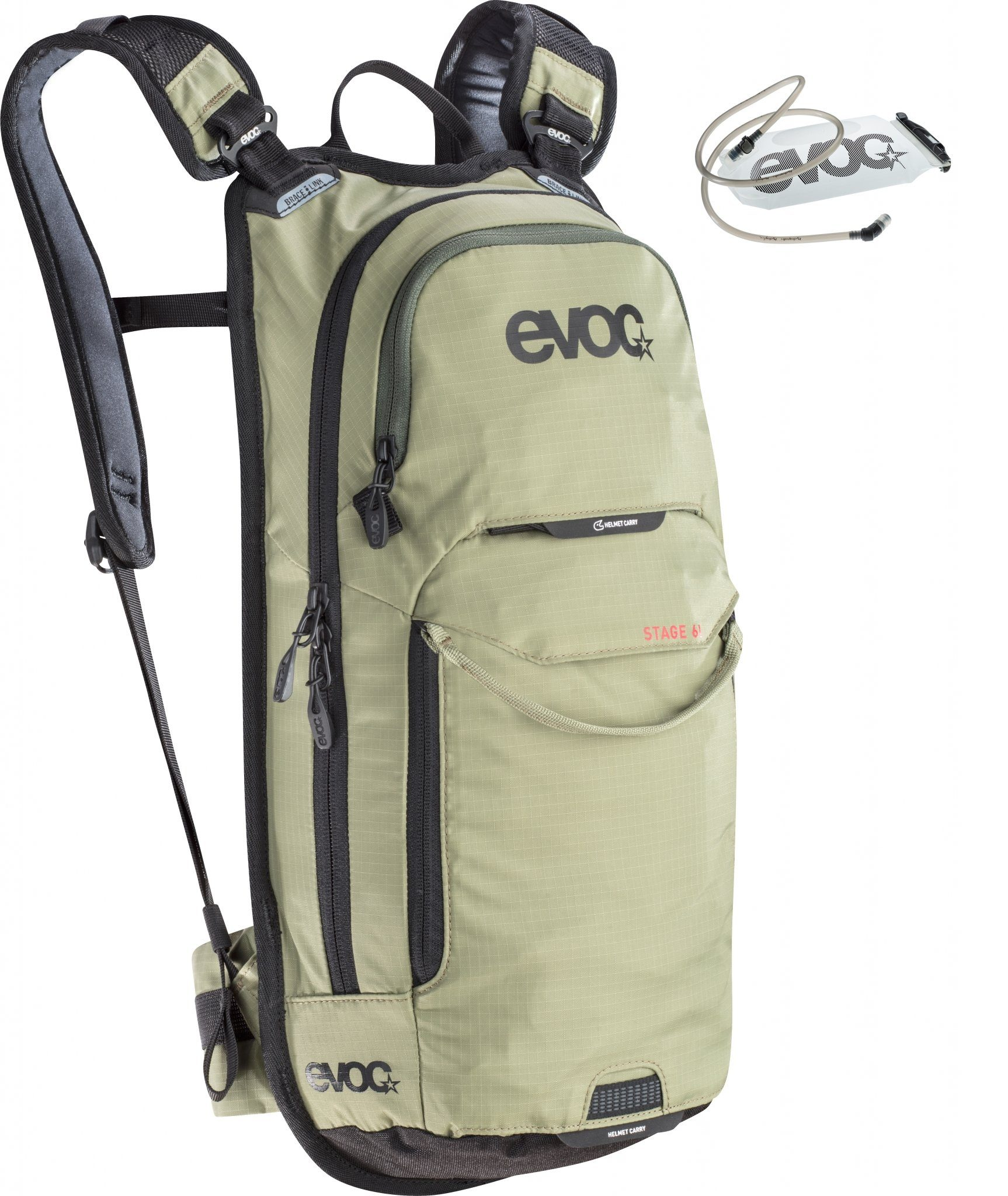 Evoc Rucksack »Stage Backpack 6 L + Hydration Bladder 2 L«