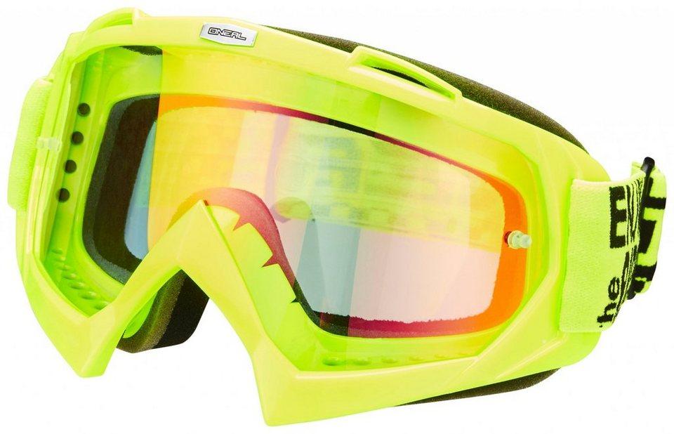 O'NEAL Radsportbrille »B-Flex Launch Goggle« in grün