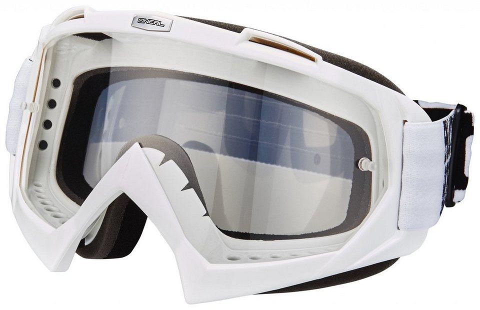 O'NEAL Radsportbrille »B-Flex Launch Goggle« in weiß