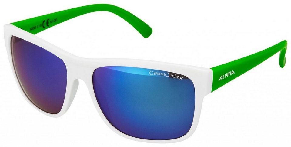 Alpina Radsportbrille »Heiny Brille« in weiß