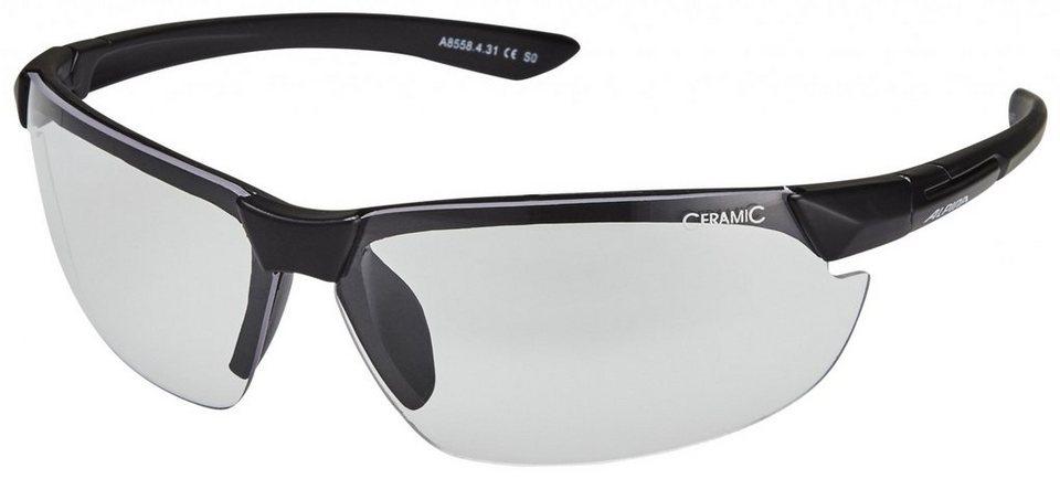 Alpina Radsportbrille »Draff Brille« in schwarz